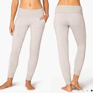 Beyond Yoga | Cozy Fleece Foldover Sweatpants S
